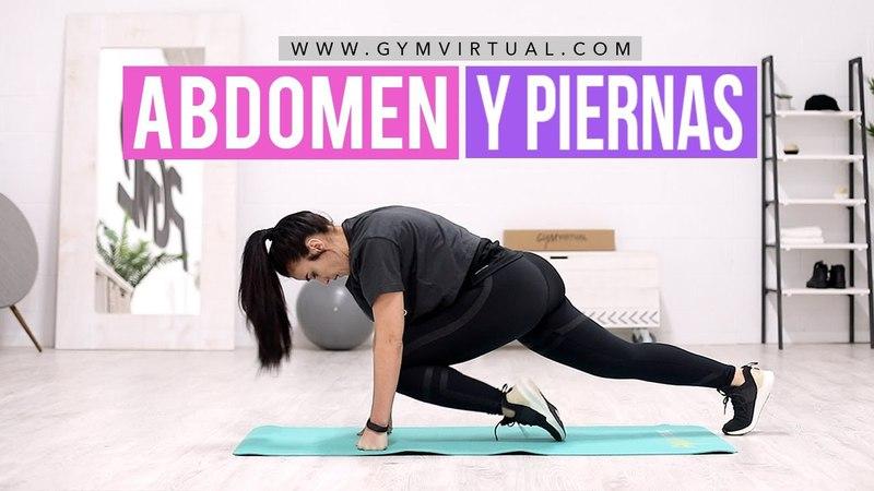 Eliminar grasa del abdomen y tonificar piernas | 10 minutos