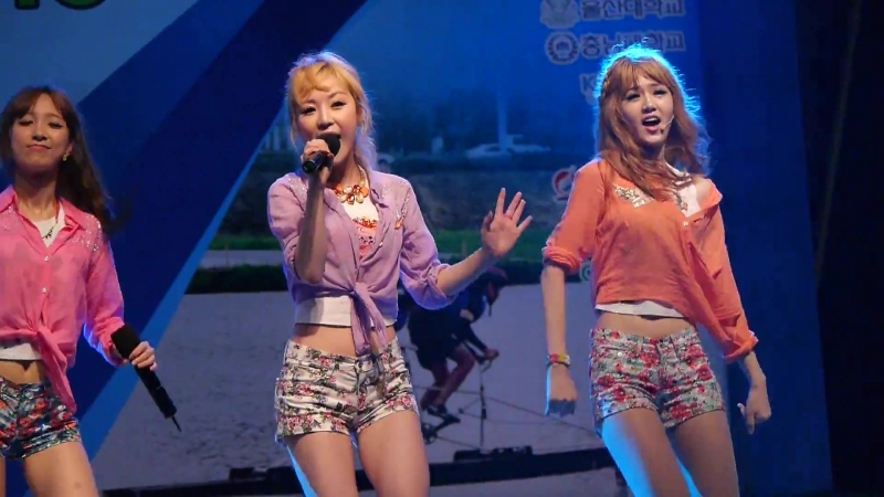 130807 BBde Girl - Woman on the beach (Cool (쿨) cover) @ 일산 솔라보트대회 개막식