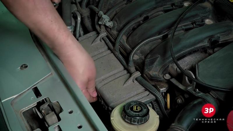 Lada Largus (Лада Ларгус) замена масла в 16-клапанном двигателе