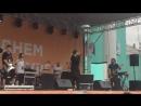 Бурито распевается перед концертом в Краснотурьинске Видео Анастасия Куренева