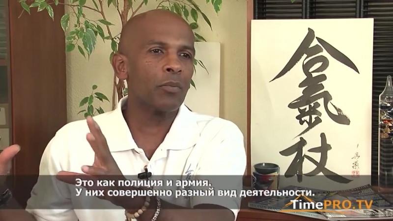 Мастер-класс по Айкидо Есинкан от Джо Тамбу Сенсея (Master class in Aikido Yoshinkan. Joe Thambu)