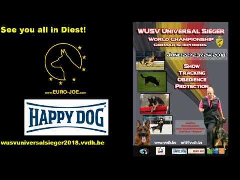 Helper presentation WUSV Universal Sieger 2018