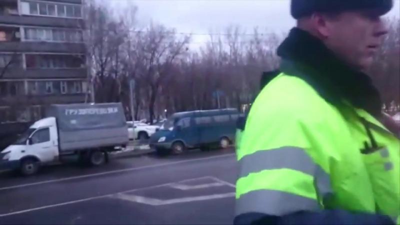 ДПСники придушили пешехода
