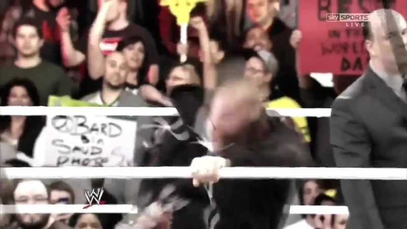 CM Punk vs The Rock Elimination Chamber (Promo)