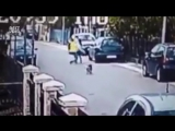 Пёс спас девушку от грабителя