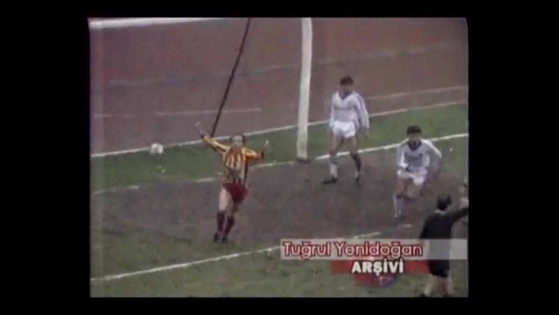 Federasyon Kupası - 1984 - 1985 Sezonu - Yarı Final-2TUR - Beşiktaş 0 - 1 Galatasaray