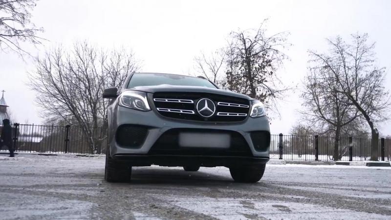 Угон Мерседес GLS за 10 секунд. Тест охраняемого паркинга на безопасность.