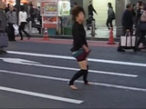 Japanese Street Breakcore Girl