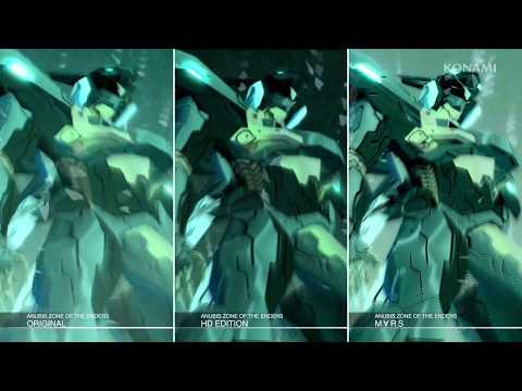 【ANUBIS ZONE OF THE ENDERS : M∀RS】比較映像トレーラー