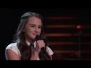 Jaclyn Lovey классно спела Cant Help Falling In Love на слепых прослушиваниях шоу Голос