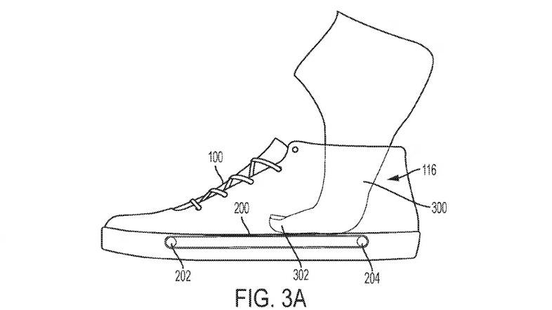 Nike хочет запатентовать конвейер внутри кроссовка