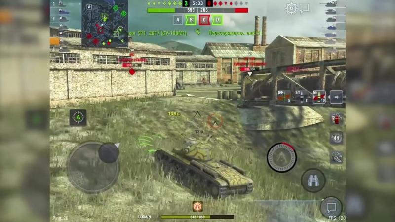[Perfect_M1nd] Легендарный танк КВ-1С WoT Blitz
