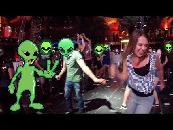 Yeşil Uzaylı Akımına Son Nokta ( Long Beach Hotel DİSCO FUN )