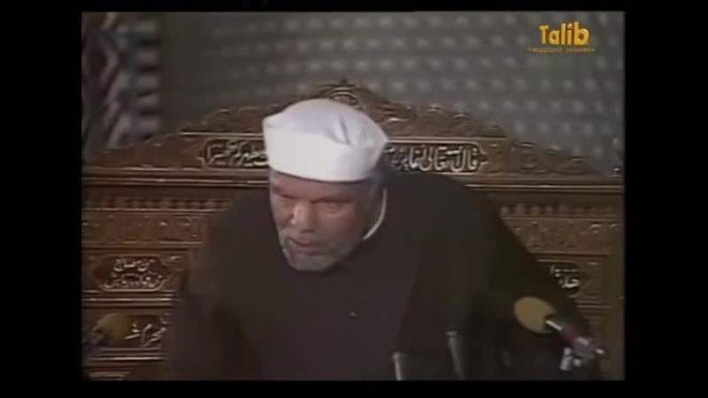 Кто такой Суфий Мутавали аш Шаарави