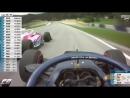 Formula 2 ArtemMarkelov Amazing Triple Overtake Austria 2018 Race 1