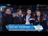 Maia and Alex Shibutani Today Show Olympic Interview 21-02-18