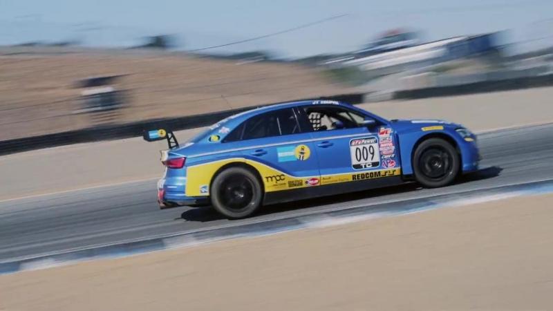Погнали BILSTEIN - sponsored Audi RS3 LMS of Berg Racing and JT Coupal at Mazda Raceway Laguna Seca