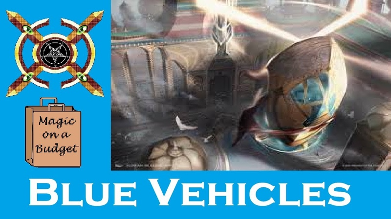 MTG on a Budget: Blue Vehicles (40 Tix) in Modern!