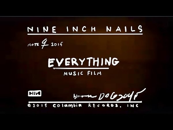 Nine Inch Nails EVERYTHING Official Video director's cut
