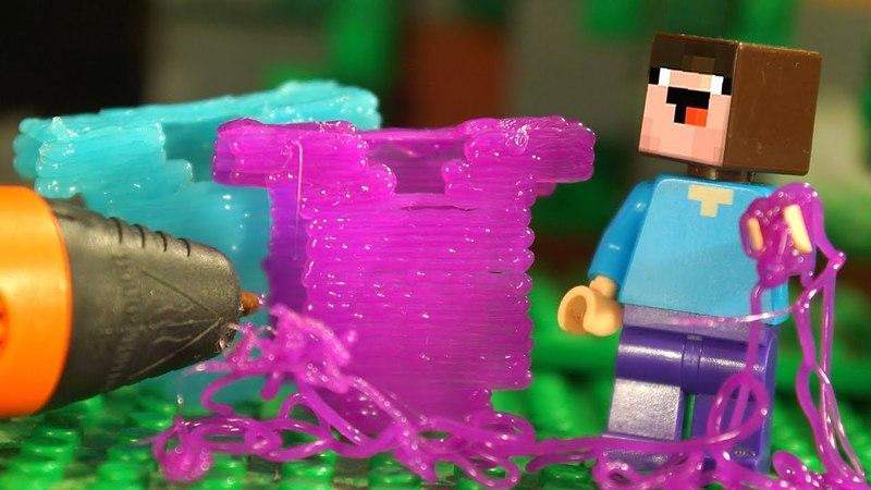 3Д РУЧКА 🖌 ФНАФ и Лего Нубик Майнкрафт Мультики Все Серии Подряд Мультфильмы для Детей Игрушки DIY