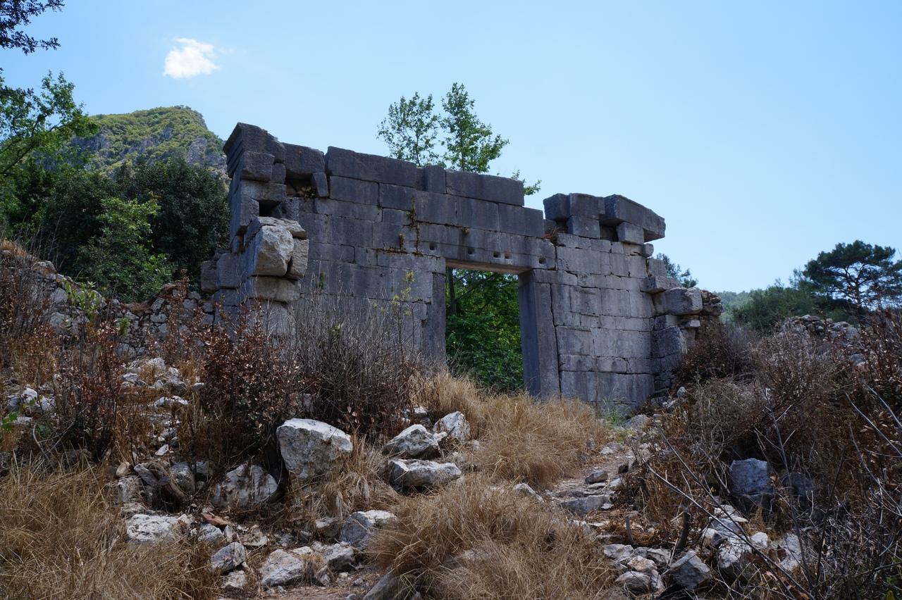 Олимпос - древний город, заброшенный в джунглях