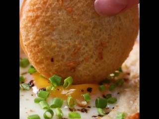 Завтрак с ветчиной и сыром (ham and cheese breakfast pockets)