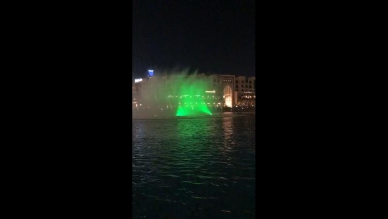 Поющие фонтаны ) 👍😍🇦🇪