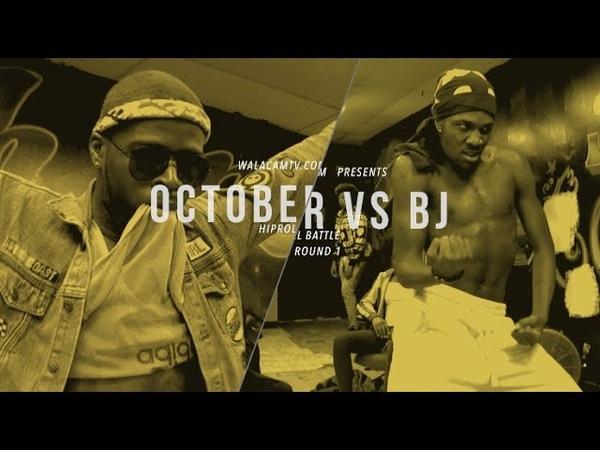 WALACAMTV.COM ITS ON...OCTOBER VS BJ RD 1 @ FINAL PHAZE DA WARZONE!!