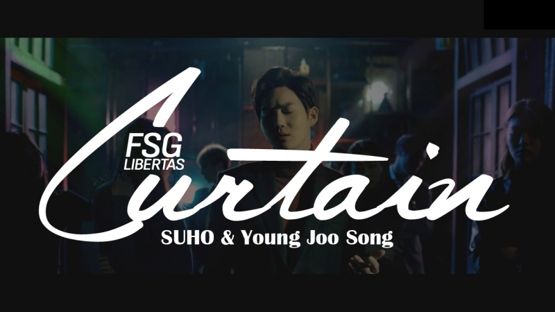 STATION] SUHO & Young Joo Song - Curtain [рус саб]