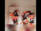 Цифра торт