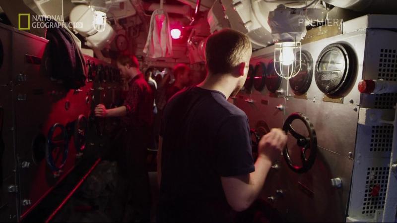 Вторая мировая - Ад под водой 2016 (Столкновение в Атлантике - 04 Эпизод)