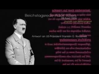 Adolf Hitler - Neue Weltordnung - - YouTube