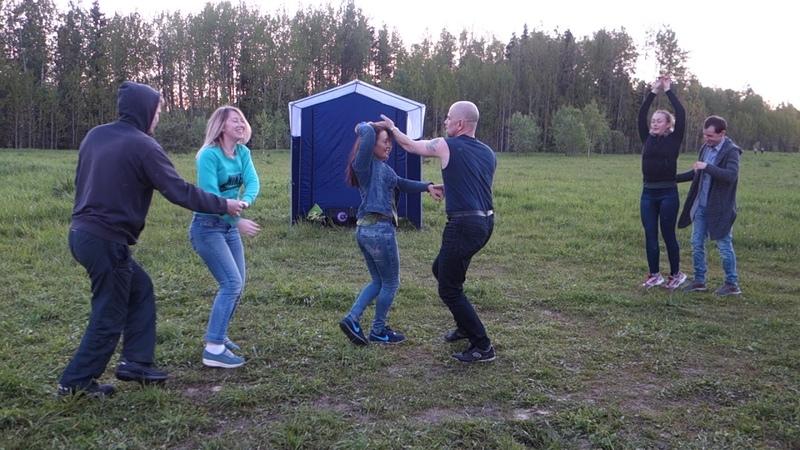 Пикник в районе Соколовки 16.06.2018. Танцы - Believer - Imagine Dragons