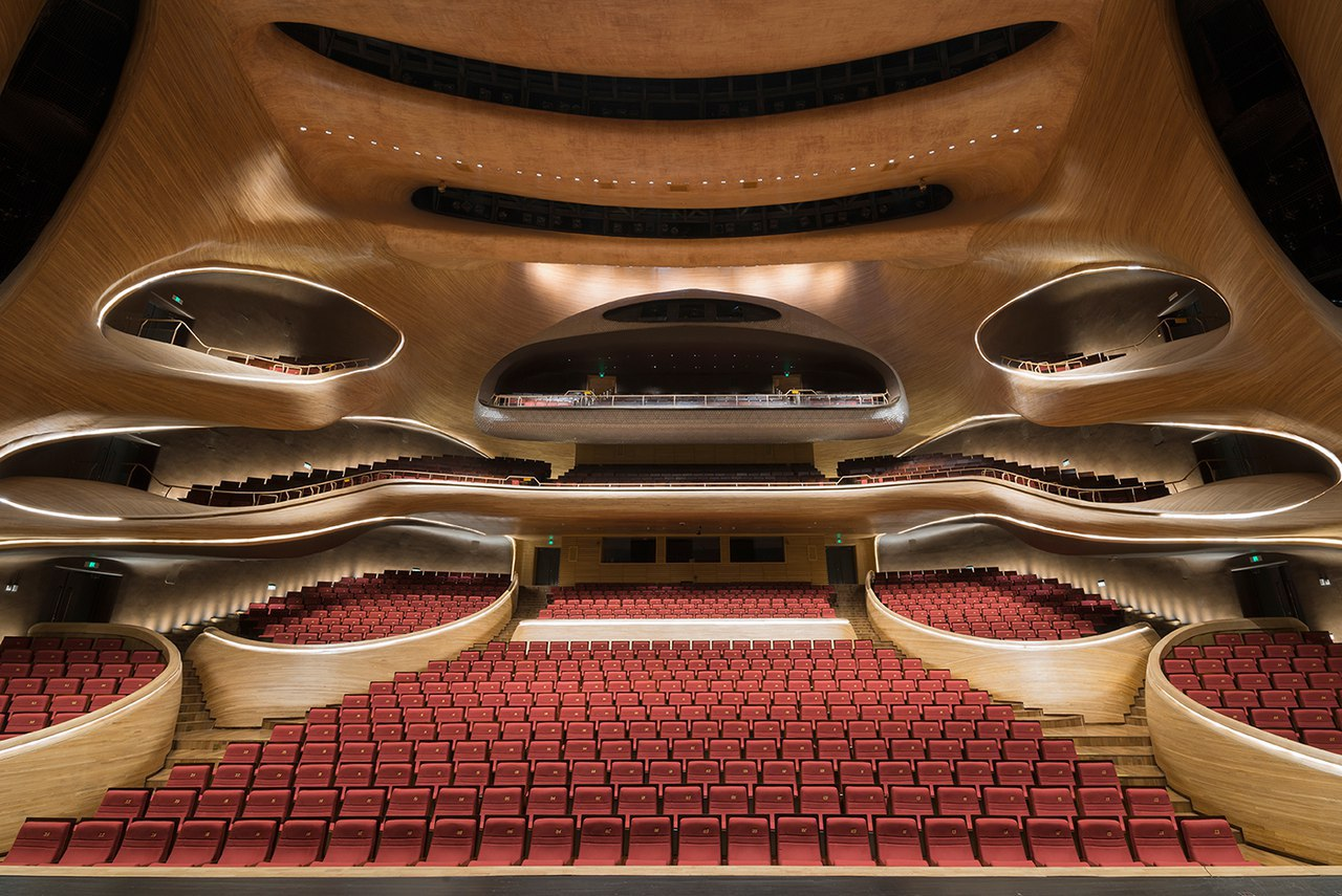 HARBIN GRAND THEATRE by MAD