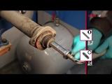 NISSAN 350ZX, Fairlady, 280ZX, 300ZX - REAR - замена задних амортизаторов KYB