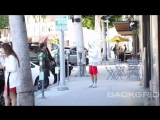 March 27: Video of Justin spotted out in Beverly Hills, California