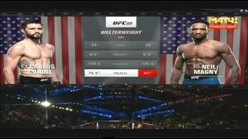 --Carlos Condit vs Neil Magny / Карлос Кондит - Нил Мэгни--от группы MMA Hero Sport music