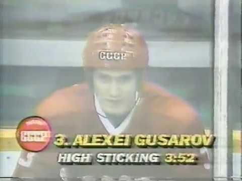 31 декабря 1986 года. Кубок Калгари, матч СССР - Канада (4:1).