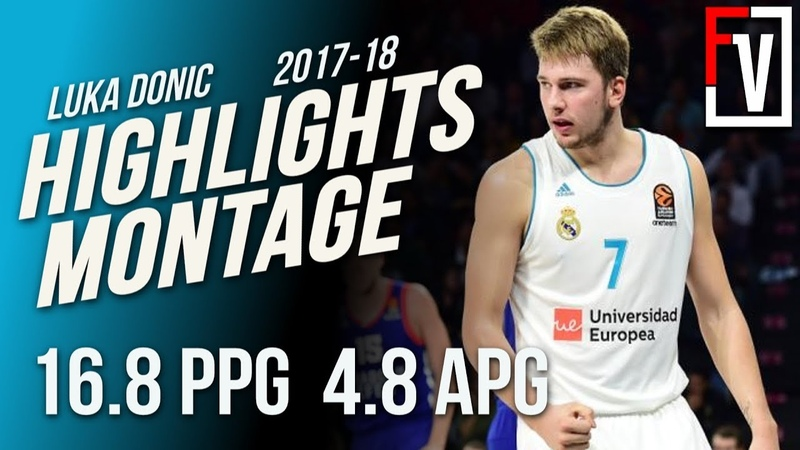 Luka Doncic Real Madrid Highlights Montage 2017-18 | 16.8 PPG, 4.5 APG, 1 Draft Pick ??