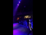 Demi Lovato performing Sorry Not Sorry at Emo Nite in Los Angeles
