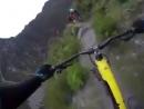 Riding the ridge!