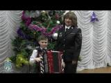 Дети поздравляют сотрудников ставропольской полиции с Новым годом (5)