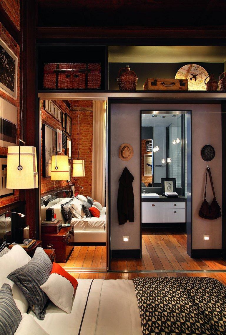 Выставочная инсталляция лофта от бразильского дизайнера Luiz Fernando Grabowsky.