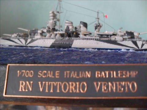 Regia Nave Vittorio Veneto 1700 Kit Trumpeter
