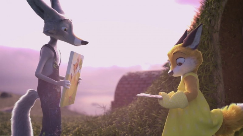 Brush A Fox Tale Animated Short Film