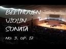 Beethoven Violin Sonata No.3, Op.12 | Leia Zhu
