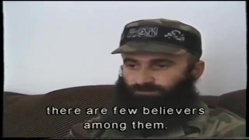 Русские — это безбожники, среди них есть малая часть верующих людей, люди которые боятся Бога. Но в большинстве своем русские эт