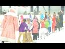 Новый год в Карандин-Арене воспитанники школы фигурного катания исполнили песню В лесу родилась ёлочка