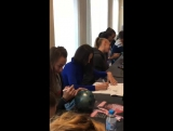 Автограф - сессия перед гала шоу в Испании - Euskalgym 2017