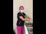 Всем доброе утро! Сегодня наш операционный день начинается с лапароскопической операции. К нам поступила пациентка 27 лет., кото